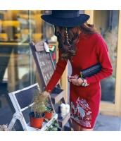 ガーベラレディース 刺繍 スタンドカラー チャイナードレス 着やせ ミニワンピース 長袖 タイトワンピース rp9756-1