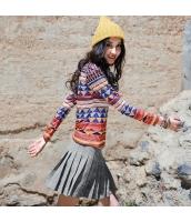 ガーベラレディース ジップアップ コーデアイテム Aライン裾 プリーツスカート ミニスカート rp9770-1