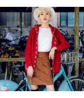 ガーベラレディース 刺繍 ストレート レトロ シンプル コーデアイテム タイトスカート ミニスカート rp9932-1