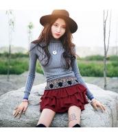 ガーベラレディース エスニック 刺繍 Aライン コーデアイテム ティアードスカート ミニスカート rp9933-1