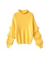 ガーベラレディース ニット・セーター セーター 長袖 コーディアイテム w10048-1