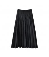 ガーベラレディース プリーツスカート 膝丈スカート コーディアイテム w10079-1