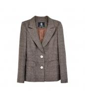 ガーベラレディース テーラードジャケット ステンカラー OL用 w10098-1