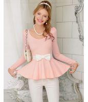 【即納】カットソ■Tシャツ■可愛いシリーズ-w3209 tk-w3209-pk-l【カラー:Pink】【サイズ:L】