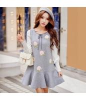ワンピース ミニ 袖なし Aライン・フレアワンピ ファッション 細身  w8023-1
