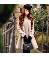 コート ダッフルコート ファッション 大裾  w8150-1