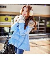 コート ダウンコート ショート ゆったり ファッション 厚い ファー襟 暖い  w8163-1