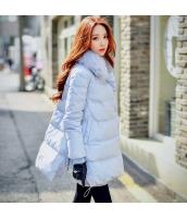 コート ダウンコート ミディアム ファッション ファー襟 暖い  w8165-1
