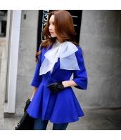 コート ダッフルコート ミディアム ファッション あわせ易い 細身 ショート丈  w8189-1