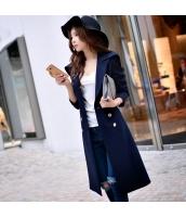 コート トレンチコート ミディアム ファッション 細身  w8190-1
