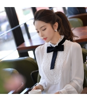 シャツ 無地 長袖 ファッション 細身  w8256-1