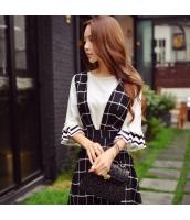 シャツ 柄物 七分袖 ファッション 細身  w8275-1