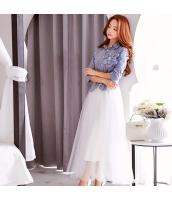スカート ミニ 台形 あわせ易い 大裾  w8297-1