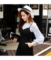カットソー 長袖 ファッション 細身  w8321-1