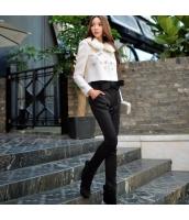 パンツ ロングパンツ ファッション あわせ易い 細身 ハイウエスト  w8467-2