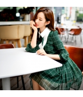 ワンピース シャツワンピ ミニ ファッション 細身  w8579-1