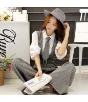 シャツ 無地 ファッション 細身 燈籠袖 w8862-1