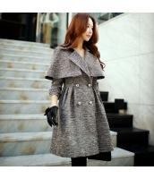 コート ダッフルコート ミディアム ファッション マント w9051-1