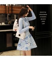 ガーベラレディース ゴアードスカート ミニスカート 花柄 w9635-1