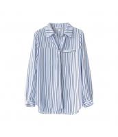 ガーベラレディース シャツ 長袖 OL風 着やせ w9855-1