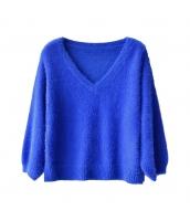 ガーベラレディース ニットウェア セーター 七分袖 コーディアイテム w9899-1