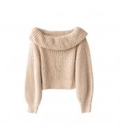 ガーベラレディース ニット・セーター セーター 長袖 ランタン袖 w9904-1