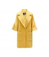 ガーベラレディース フリースコート ミディアムコート ワイド袖 w9913-1