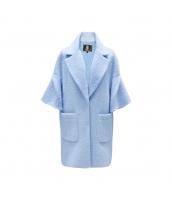 ガーベラレディース フリースコート ミディアムコート ワイド袖 w9913-2