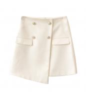 ガーベラレディース ラップスカート 膝丈スカート イレギュラー裾 w9921-1