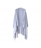 ガーベラレディース カーディガン ニットウエア 長袖 イレギュラー裾 w9974-1
