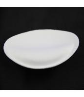 ビーチグッズ ワイヤー水着用パッド 胸パッド 丸型 ホワイト/白色  yd3004-2