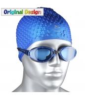 ビーチグッズ 水泳ゴーグル スイミングゴーグル スイムゴーグル 男女兼用 青レンズx黒色 yd3057-2