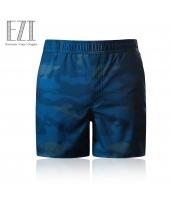 メンズ水着 スイムパンツ 海水パンツ 迷彩柄 ネイビー/紺色 yd3100-1