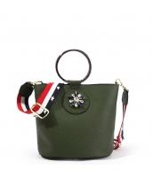 レディースバッグ 2wayバッグ ハンドバッグ ショルダーバッグ メタル持ちて 個性的 メタルデコ yh10238-3