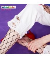 靴下・レッグウェア ストッキング 網 グリッド  yj5833-2