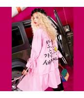 コート トレンチコート ミディアム 趣味プリント 荷葉裾 ゆったり yj5974-1