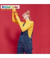 ガーベラレディース タートルネック 着やせ ニットウェア セーター yj6291-1