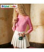 ガーベラレディース タートルネック 着やせ ニットウェア セーター yj6422-2