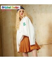 ガーベラレディース ゆったり ストリートファッション ミディアム丈 プルオーバーパーカー 長袖 yj6436-2