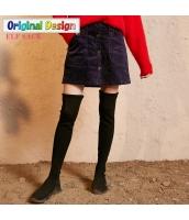 ガーベラレディース Aライン 文芸風 タイトスカート ミニスカート yj6550-2