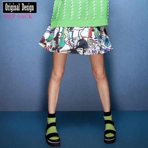 ガーベラレディース フレアスカート ミニスカート かわいい yj6740-2