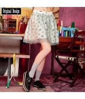 ガーベラレディース ギャザースカート ミニスカート かわいい yj6841-2