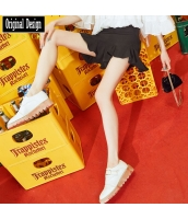 ガーベラレディース ショートパンツ ホットパンツ ペプラム裾 yj7002-2