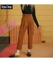 ガーベラレディース サルエルパンツ ハイウエスト ヒップポップ ストリートファッション yj7244-2