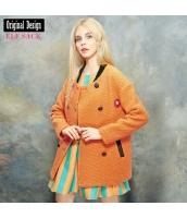 ガーベラレディース フリースジャケット ノーカラー 暖かい yj7522-2