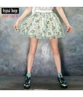 ガーベラレディース ゴアードスカート ミニスカート かわいい yj8038-1