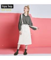 ガーベラレディース ジャンパースカート ゆったり yj8126-1