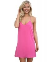 売れ筋 ピンク 夏 スイング ショート ドレス cc220003-6