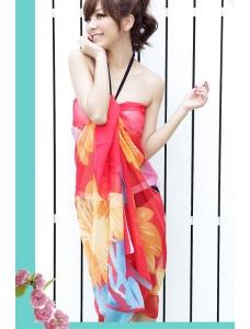【即納】パレオ | 水着付属品 | 美しき ロータス-cc40364 tk-cc40364-f【カラー:画像参照】【サイズ:フリー】