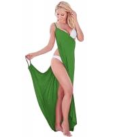 グリーン ギリシア 女神 スパゲッティ ストラップ サロン ビーチファッション cc42179-9